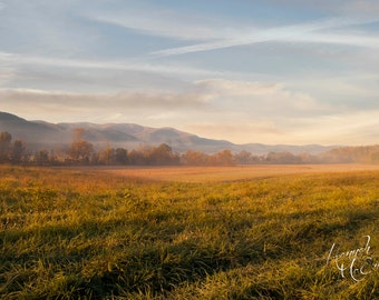 Mountain Photography Digital Download, Smoky Mountains, Cades Cove, Instant Download, Landscape Photography, Stock Photo
