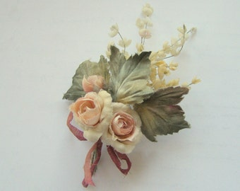 "Bouquet of silk ""Roses and hops"" for dolls"