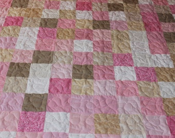 California King Size Quilt - Supply Your Own Fabrics - Custom Made Quilt - Patchwork Quilt