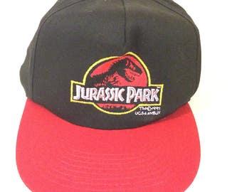 1992 JURASSIC PARK MOVIE Promo Hat