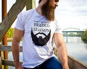 Every Season is Beard Season // Large // Unisex Next Level brand // White in color