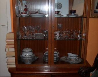 Art Deco Walnut Cabinet 45 x 120 x 170cm