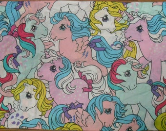 Retro My Little Pony Fabric (cotton mix)