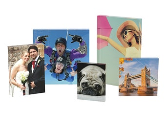 Printed Acrylic Photo Blocks Personalised Print Of Your Photograph