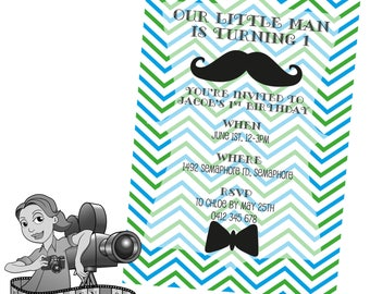 Little Man Invites