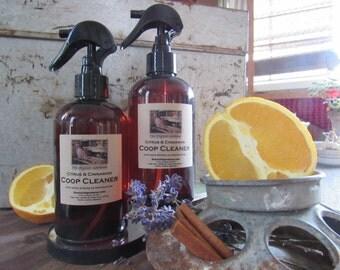 Citrus & Cinnamon Coop Cleaner