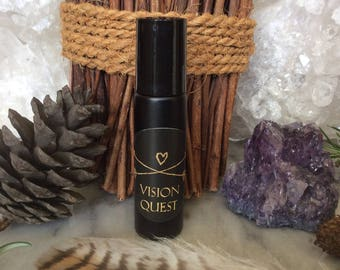 Vision Quest Essential Oil Blend ~ Shaman, Wiccan, Ritual, Celtic, Hedge Witch Magick ~ Organic ~ Herbal Healing