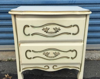French end table or night stand
