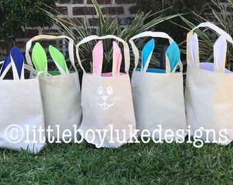 Bunny Basket - Easter Basket - Easter Egg Basket - Easter Egg Hunt - Easter Bunny Basket - Easter Bunny Bag