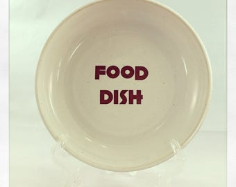 Food Dish- for small dogs and cats