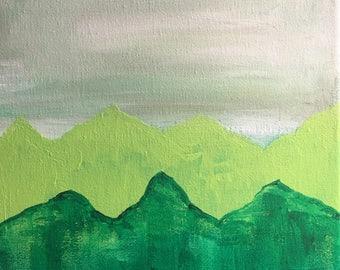 Mountain Mini in Green