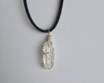 SALE // Clear Quartz // Clear Quartz Necklace // Crystal Jewelry