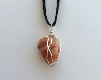 Sunstone // Sunstone Necklace // Crystal Jewelry //