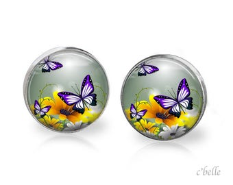 Earrings Butterfly 8