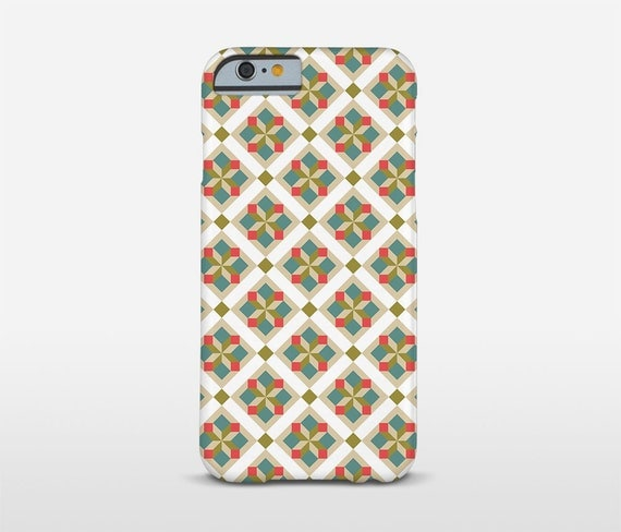 Modernist Cell Case, Graphic Phone Case, iPhone Cases, Barcelona Tiles, Vintage Decor, Sony Phone Cases, Nokia Cases and more...