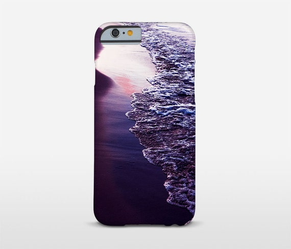 Beach Phone Case, Purple Sunset, iPhone Cases, iPhone7 Case, Tough Cases, Huawei Case, Galaxy Phones and more