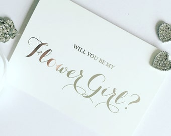 Silver Foil Effect Will You Be.......Cards