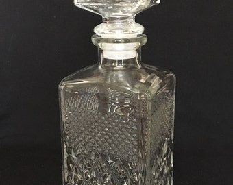 Decanter With Stopper Vintage Made in Italy