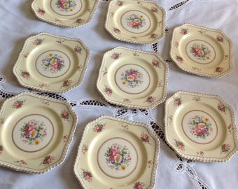 Johnson Bros England Windsor Ware Side Plate Set of 8