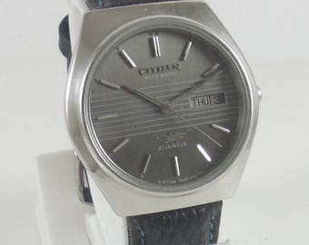 50% discount Original VINTAGE CITIZEN  21J Japan Running Watch #Ew-233