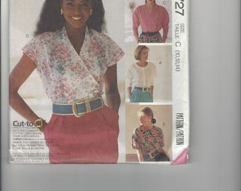McCall's Sew News Easy Pattern 4727 sizes 10-12-14 UNCUT