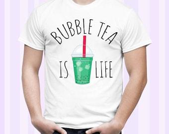 Bubble Tea Is Life Men Shirt