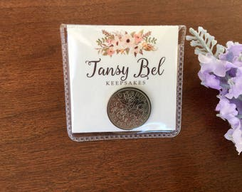 1957 gifts for her, 60th birthday present, retirement gifts for women, 60 anniversary gift, 60 year old birthday, silver sixpence keepsake