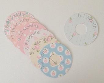 Baby Clothes Dividers / Baby Wardrobe Organisers / Baby Closet Organisers