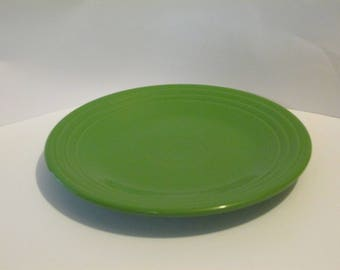 Green Fiesta 9 INCH Plate HLC Homer Laughlin China USA