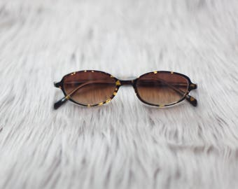 Brown Vintage Sunglasses / Tiger Sunglasses