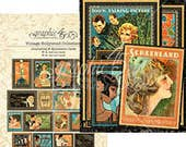 NEW! Graphic 45 Vintage Hollywood Ephemera, SC007712