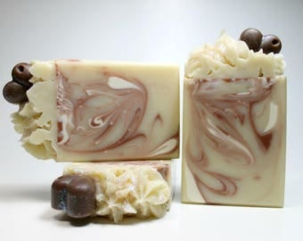 Almond Bliss Soap, Handmade Soap, Soap with Shea Butter, Artisan Soap, Body Soap Bar, Almond Soap, Natural Soap, Cold Process Soap