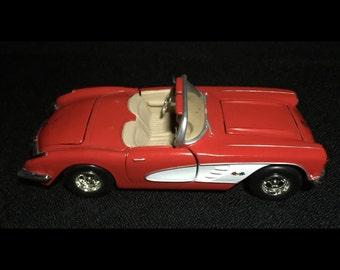 Vintage '59 Corvette Diecast Car