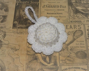 Linen Freshener, Drawer Freshener, Closet Freshener, Fresh Laundry Scented, Hanging Crochet Flower, Home Accessories, Gift, Ladies, Friend