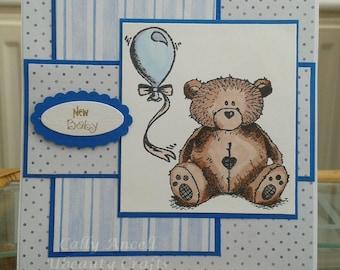 BC103 - Baby Boy Card