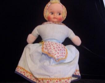 Vintage Knickerbocker Flip Doll