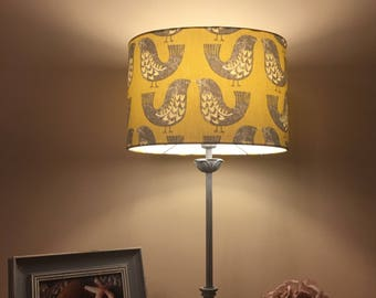 Scandi bird lampshade