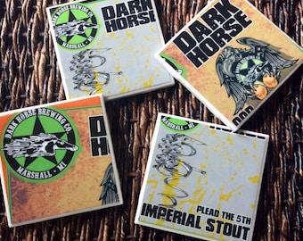 Dark Horse Beer Coasters