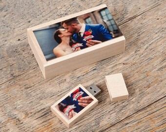 Mini Wooden USB box