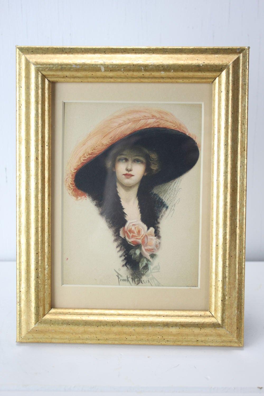 Antique Gibson Girl Cabinet Card Frank H Desch 1905