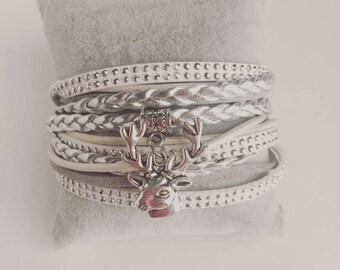 Bracelet boho multirangs