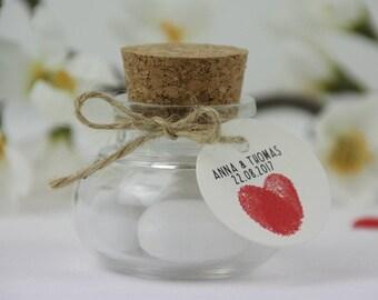 Gastgeschenke zur Hochzeit / Wedding give away Fingerprint