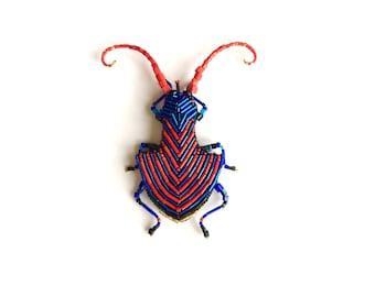 """brooch  """" beetle  Guard """". Entomology Natural History. Fashion"""
