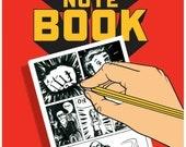 Cartoonist Comic Book A5 note book, Comic artist lovers notebook,  Comic con lovers notebook,