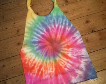 Rainbow Halter Top
