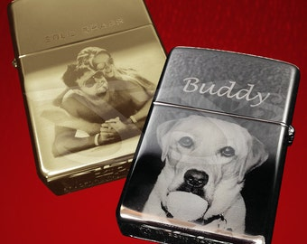 Photo engraved Zippo Lighter