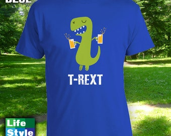 T- Rext - Funny Shirt for friend, brother, sister, funny christmas gift, funny birthday tshirt, joke tshirt,etsy tshirt, etsy t-shirt-CT-939