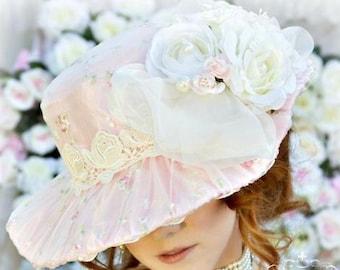 Victorian Romance Bridal Wedding Hat