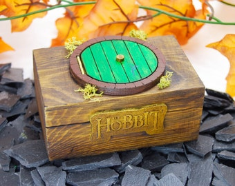 The Hobbit Box + Ring The Lord of the Rings / the Hobbit box + ring Lord of the rings