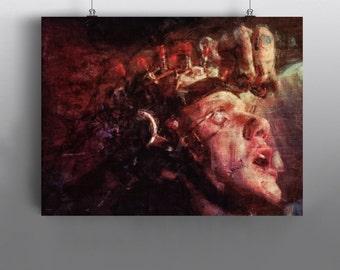 A Clockwork Orange -   Alex DeLarge protagonist and antihero, ultra-violence, Ludwig van Beethoven, Mixed Media Poster, Art Print No234